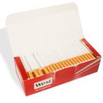 5 x 200 Stück West red Zigarettenhülsen = 1.000 Stück