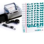 SET: Powermatic 2 PLUS silber + 1.000 GIZEH Menthol Hülsen