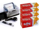 SET: Powermatic 2 PLUS silber + 1.200 ROLLING 300 Hülsen