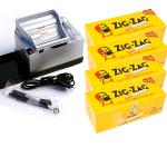 SET: Powermatic 2 PLUS silber + 1.000 Zig-Zag Hülsen