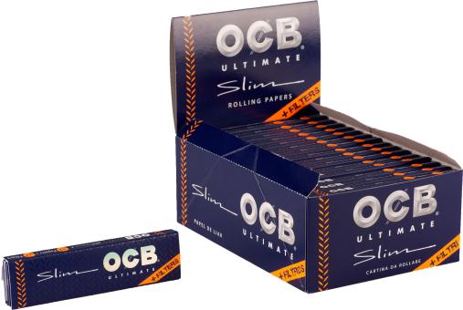 BOX OCB ULTIMATE KS slim + TIPS 32 Stück