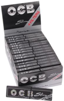 BOX OCB Premium KS slim + TIPS 32 Stück