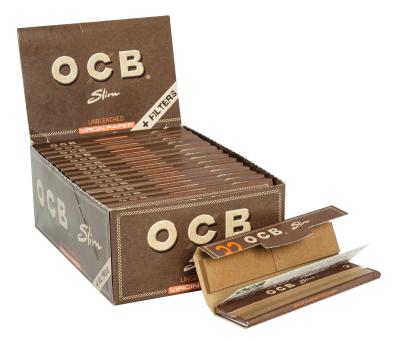BOX OCB Virgin KS slim + TIPS 32 Stück