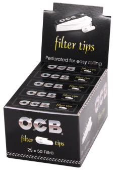 BOX OCB Filter Tips Premium 50 Stück