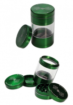 S&G Shaker-Grinder 5-tlg. 56 mm grün