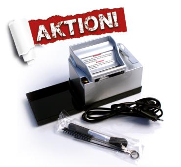 Powermatic 2 plus Silber elektrische Stopfmaschine