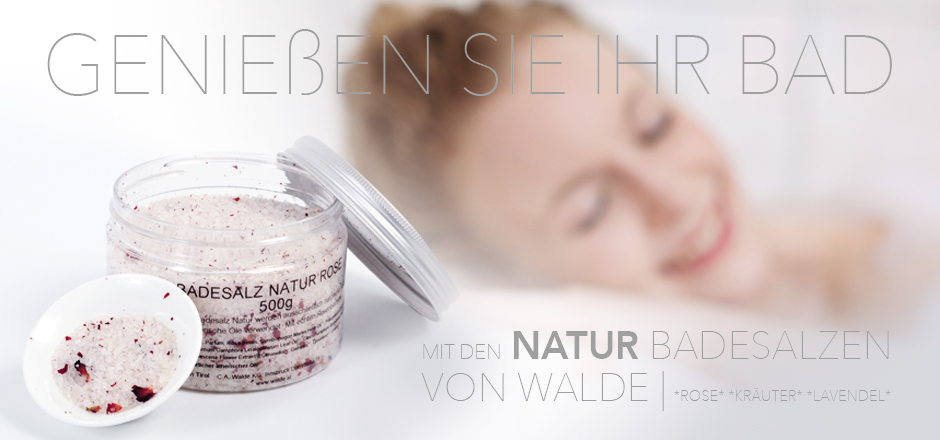 Banner Walde Badesalz